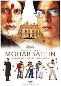 Filmposter von Mohabbatain - Denn meine Liebe ist unsterblich